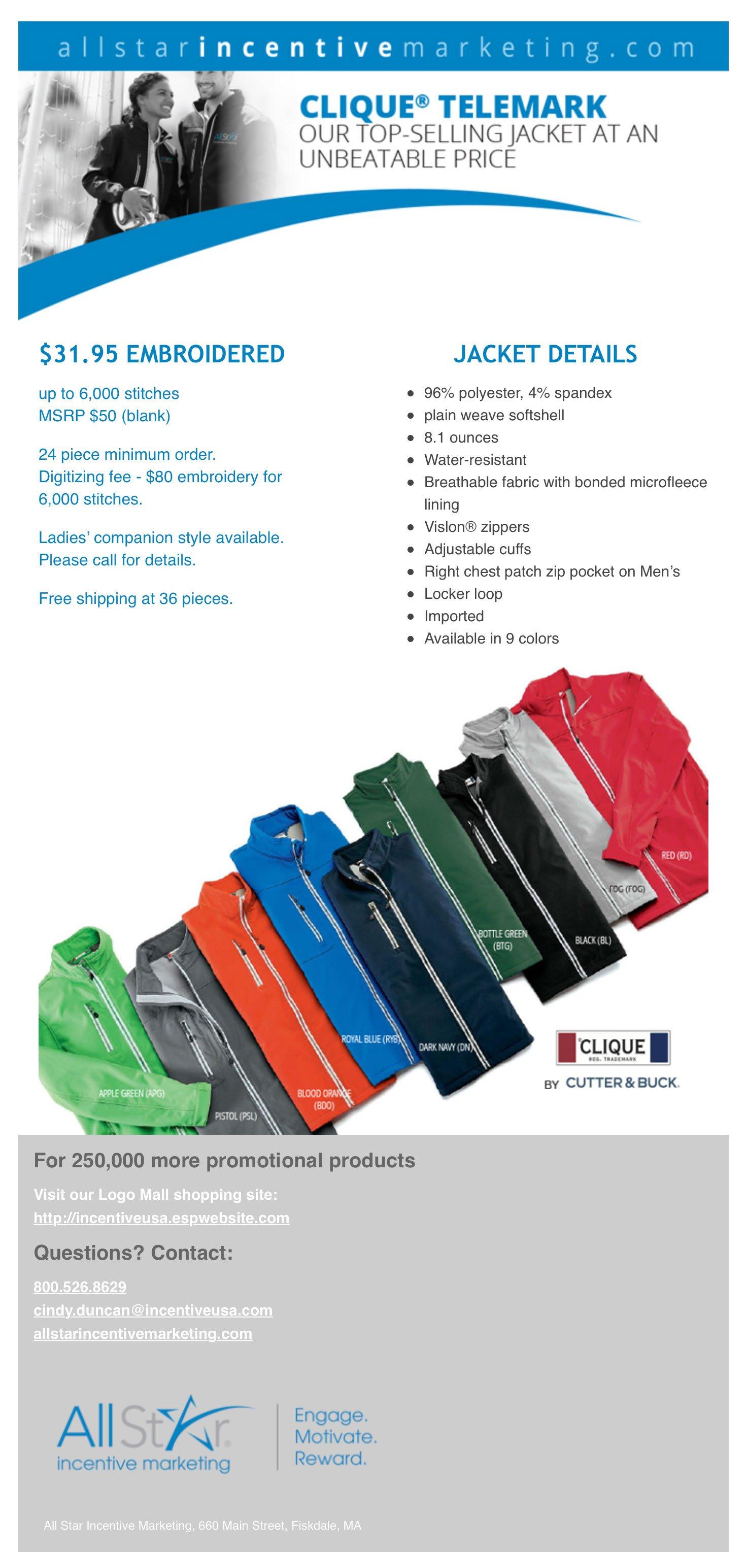 Clique Telemark Jacket