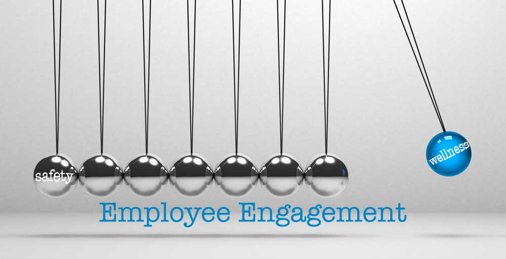 Impact of employee engagement on wellness and safety